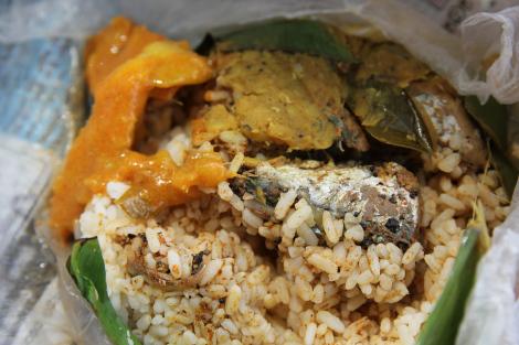 El primer rice & curry y bien especial