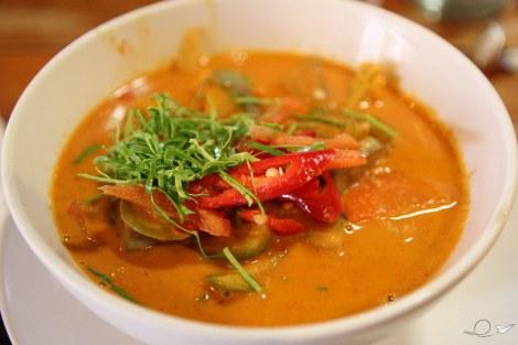 Ay ese rojo del Padang curry que amenaza...