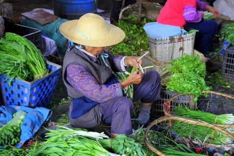 Los fascinantes mercados chinos.
