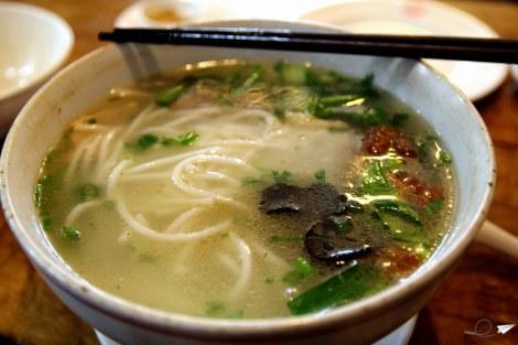 Noodles across the bridge Kunming