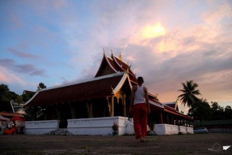 Atardecer Laos