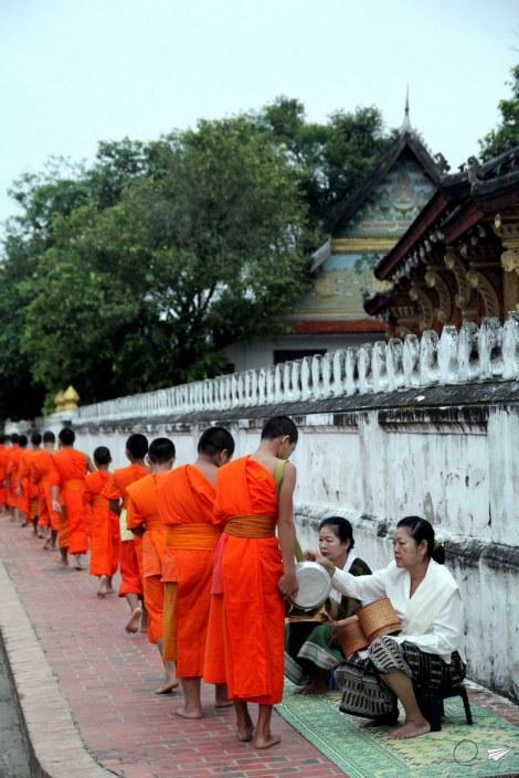 Procesión Luang Prabang