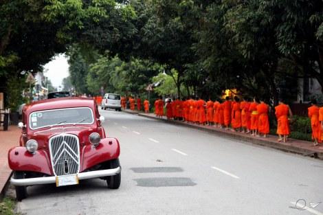 Procesión de las almas Luang Prabang