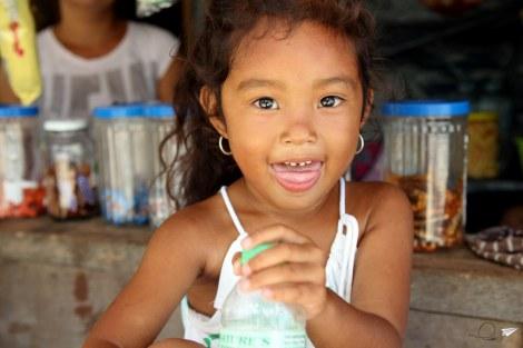 Retrato niña Malapascua
