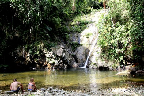 Pamuayan waterfalls