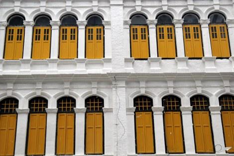 Casas coloniales en Kuala Lumpur