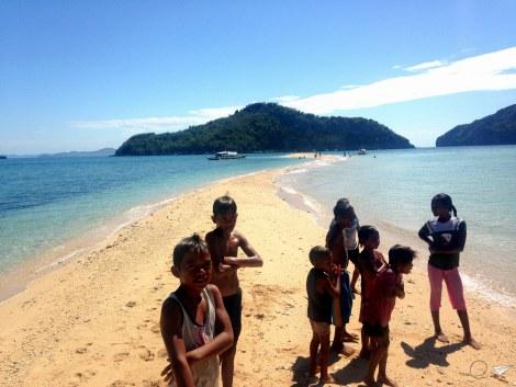 Niños Islas de Gigantes