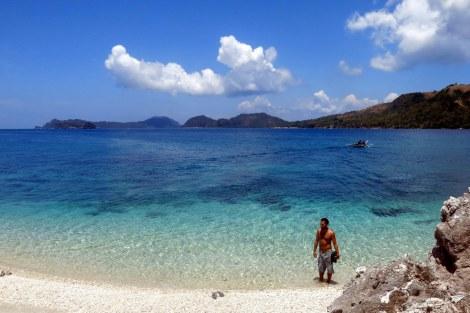 Jose en Uaydajon Island