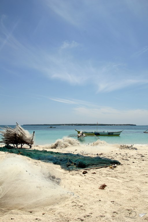 Agua turquesa Bantayan