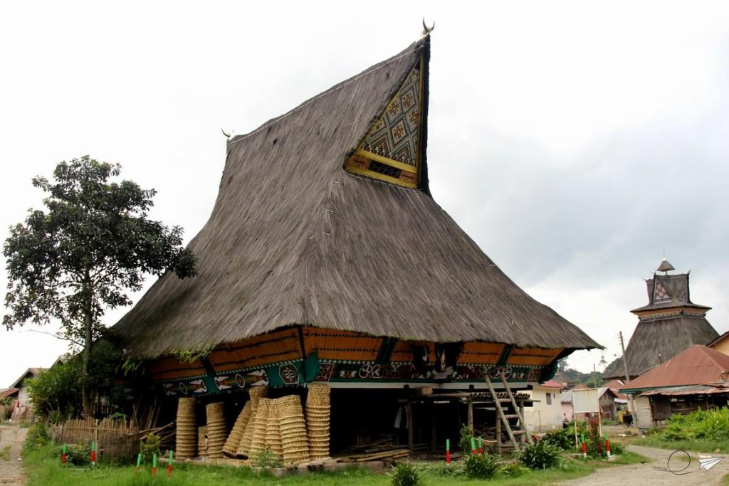 Casas tradicionales Sumatra