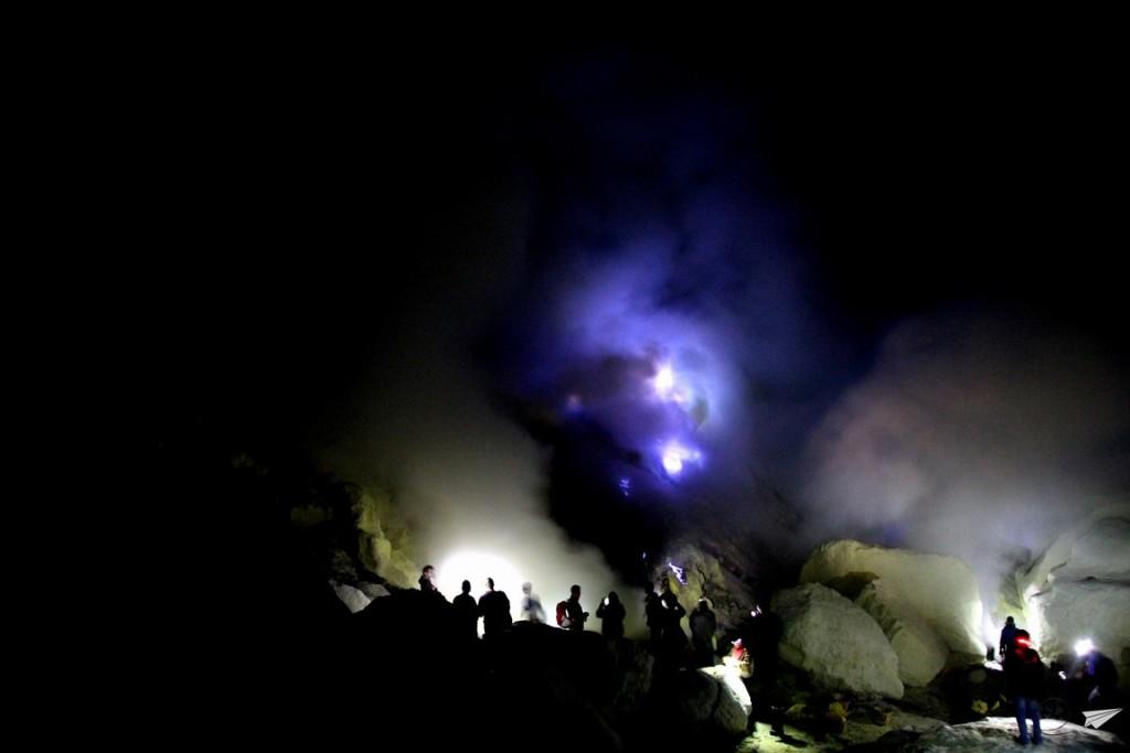 Fuego azul Kawah Ijen