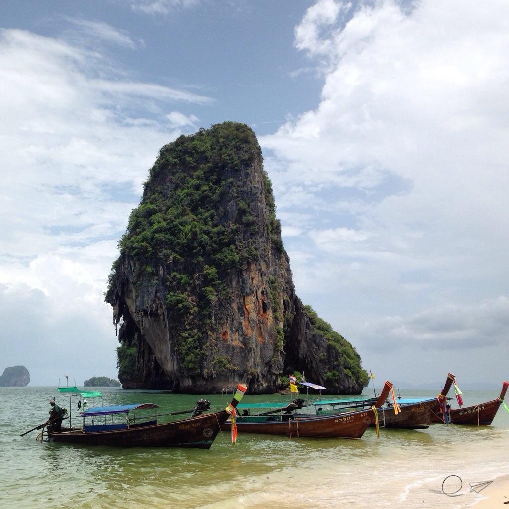 Railay, en la costa Oeste de Tailandia