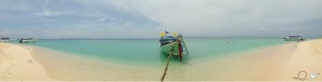Bamboo Island, el agua más turquesa que vi en Tailandia