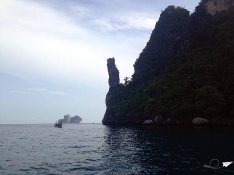 En Phi Phi Ley con vistas a Phi Phi Don