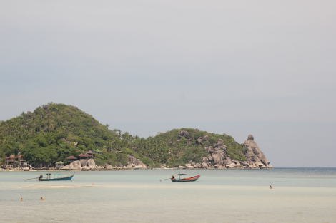 Las aguas turquesas de mi bahía preferida de Koh Tao, Chalok