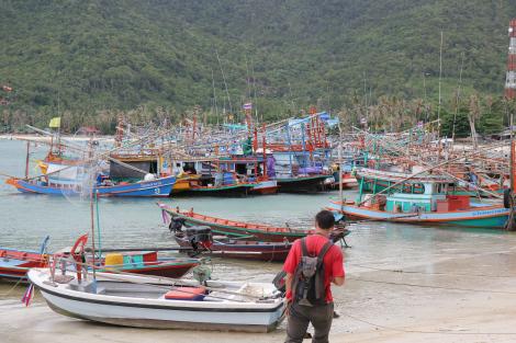 Chaloklum, la tranquila aldea de pescadores de Koh Phanghan