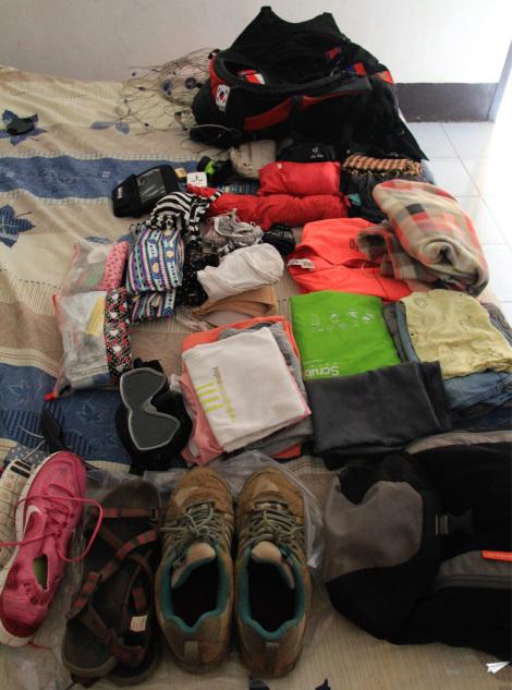Lo que hay en mi mochila
