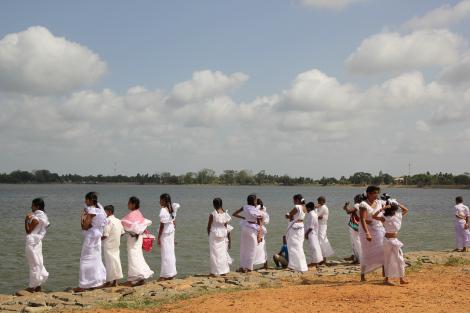 Festivo en Sri Lanka