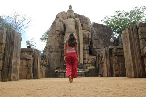 El Buda de Aukana, impresionante