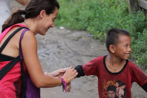Sonrisas en Laos
