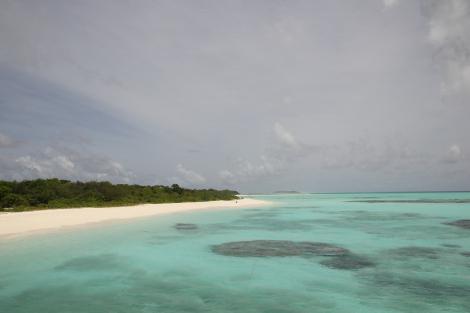 Las aguas de Maldivas