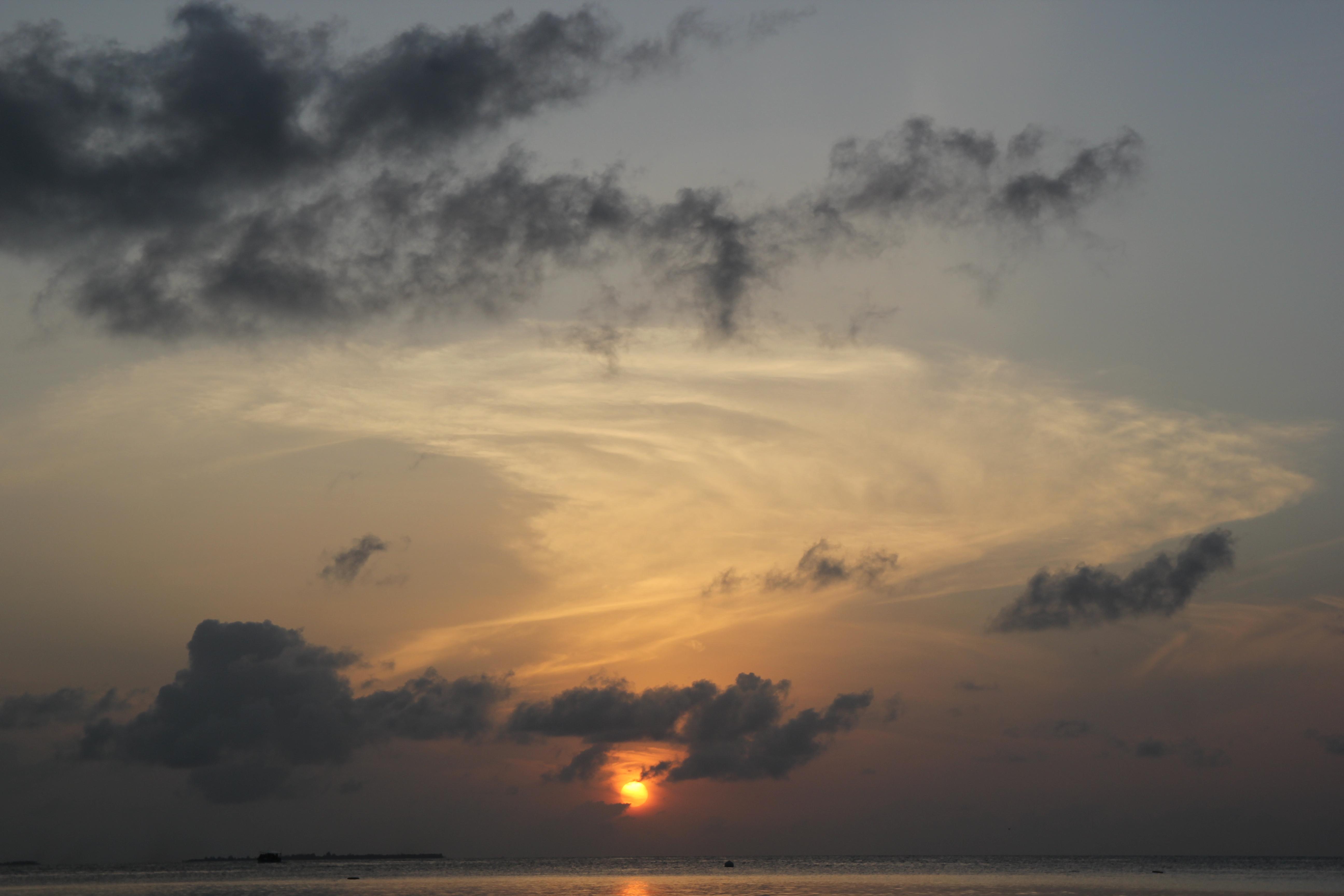 Amanecer en Komandoo Island
