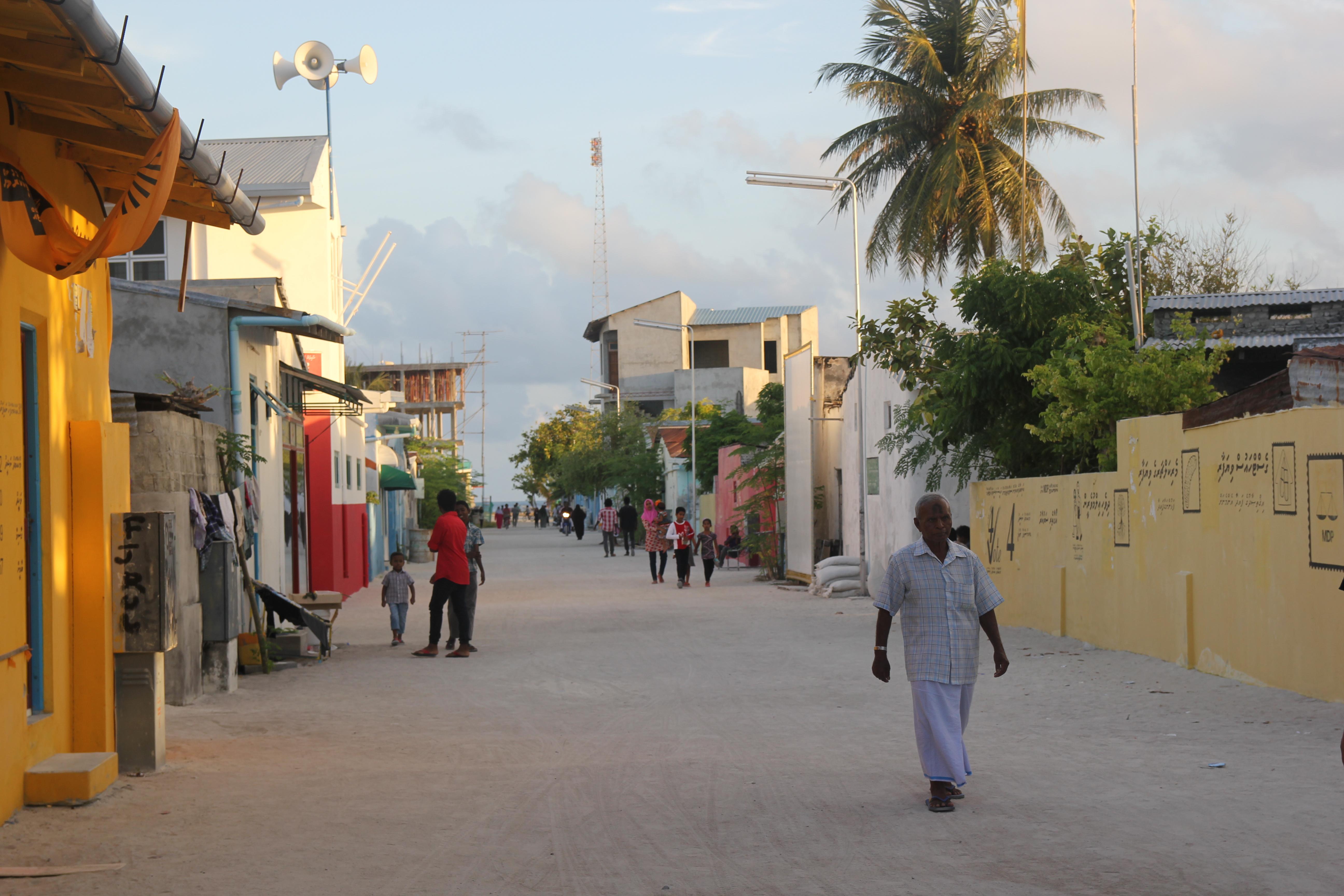 Las calles de Naifaru