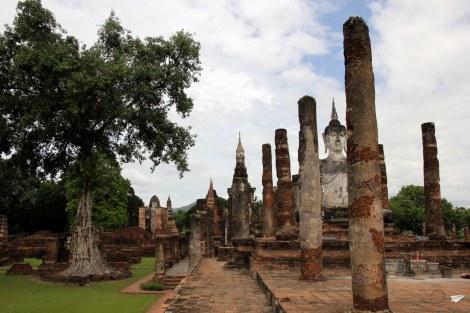 Wat Mahathat, la joya de Sukhothai