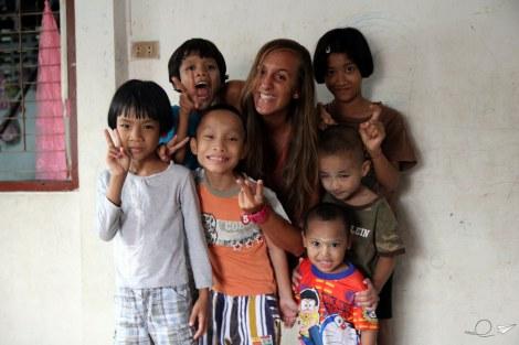 Muchas sonrisas en Colabora Birmania