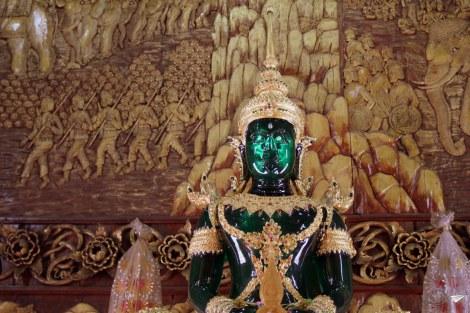 Buda de esmeralda en Chiang Mai.