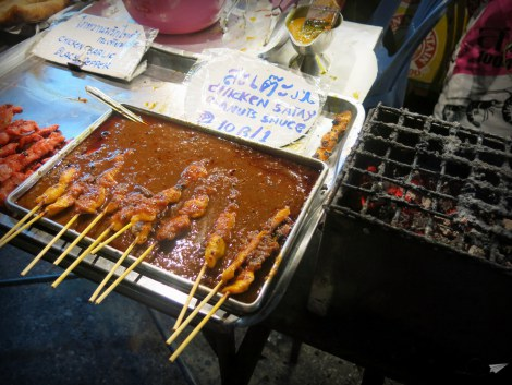 ¿Pinchitos morunos? ¡Satay!