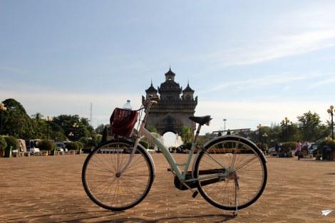Vientian en bici