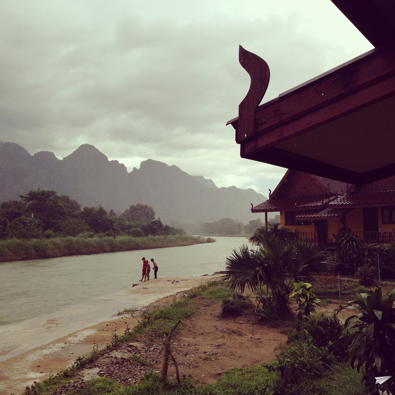 Vang Vieng, la vida junto al Nam Ou