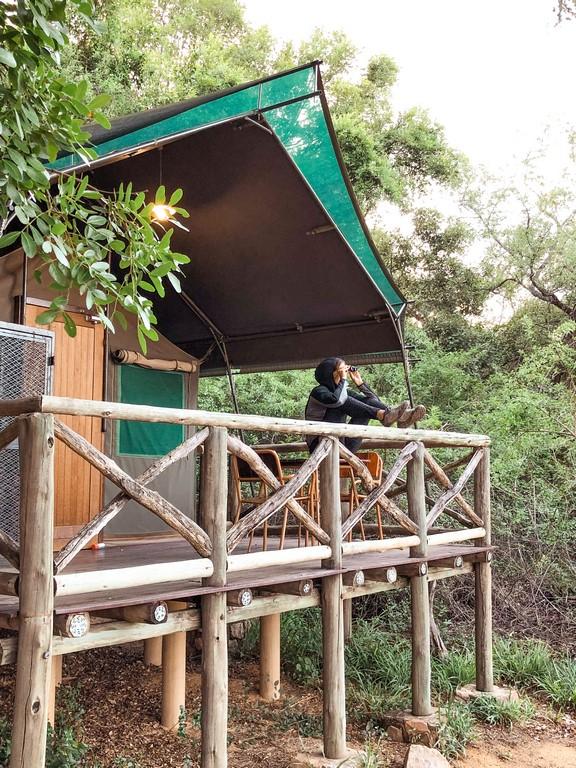 dormir en tents en el Kruger