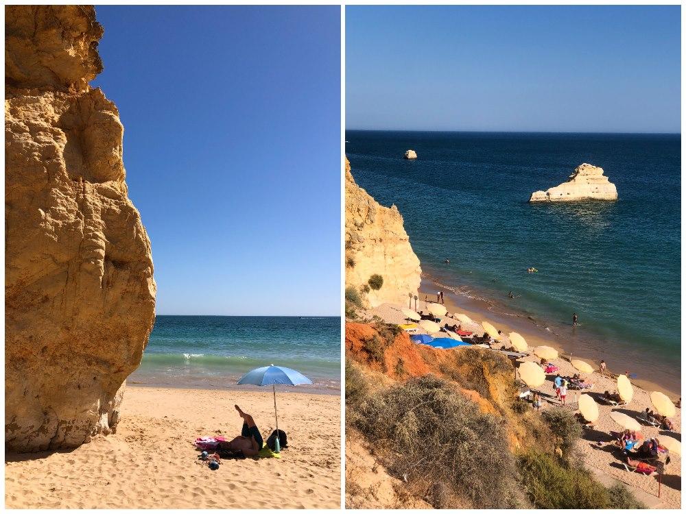 praia dos tres castelos portimao