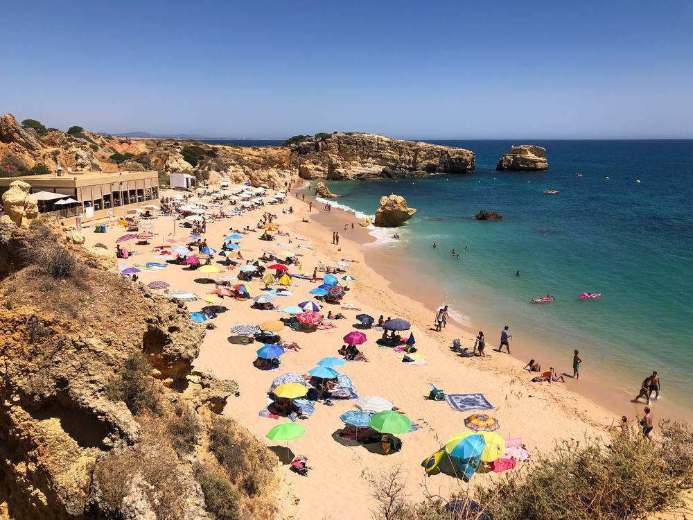 playas de albufeira sao rafael